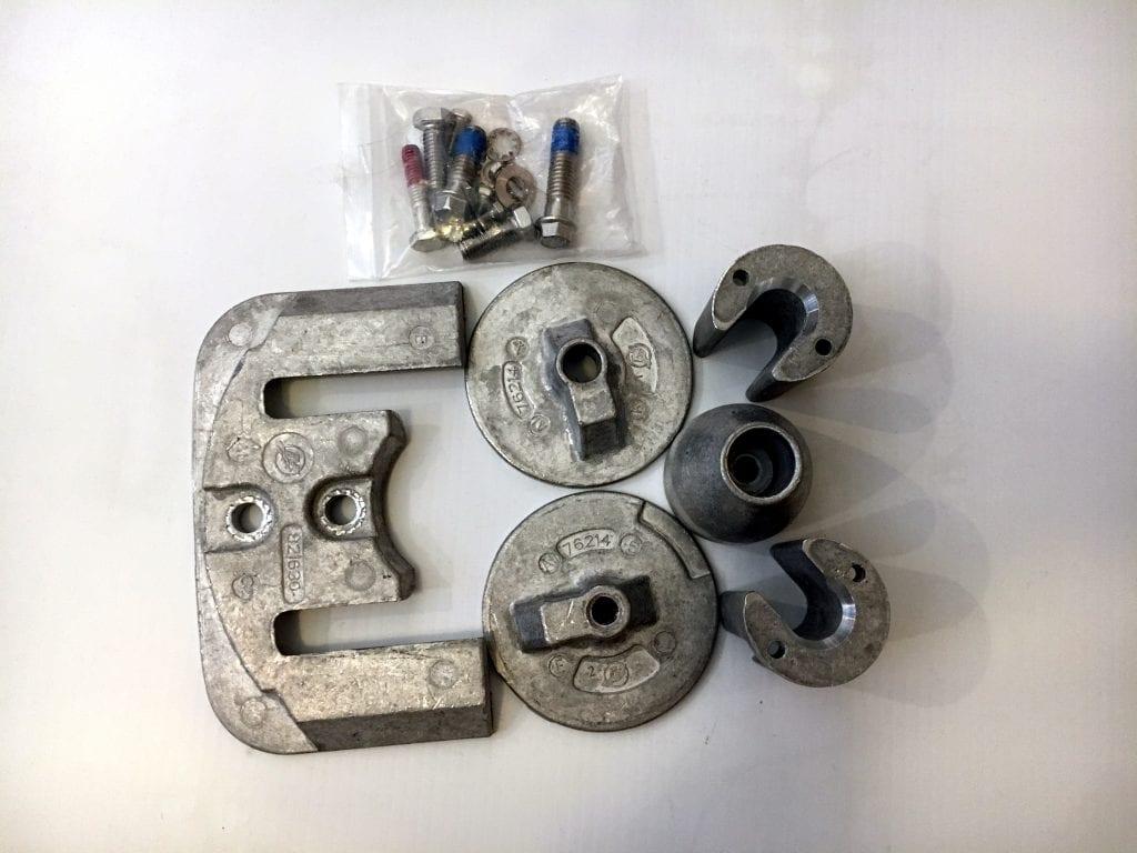 Anode Kit Quicksilver Aluminium